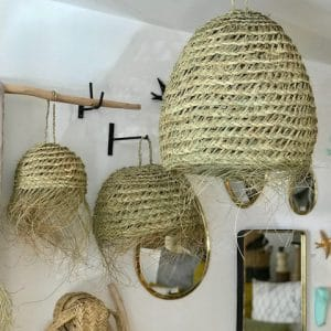 suspension naturelle decoration nature