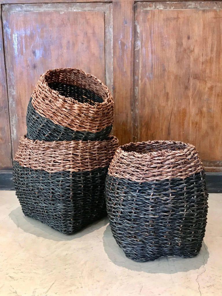 panier cache pot madam stoltz existe en 2 tailles maison saint sa. Black Bedroom Furniture Sets. Home Design Ideas