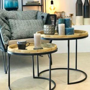 Table Basse Sellette Bout De Canape Et Table De Chevet