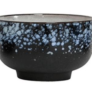 bol ceramique hk living bleu