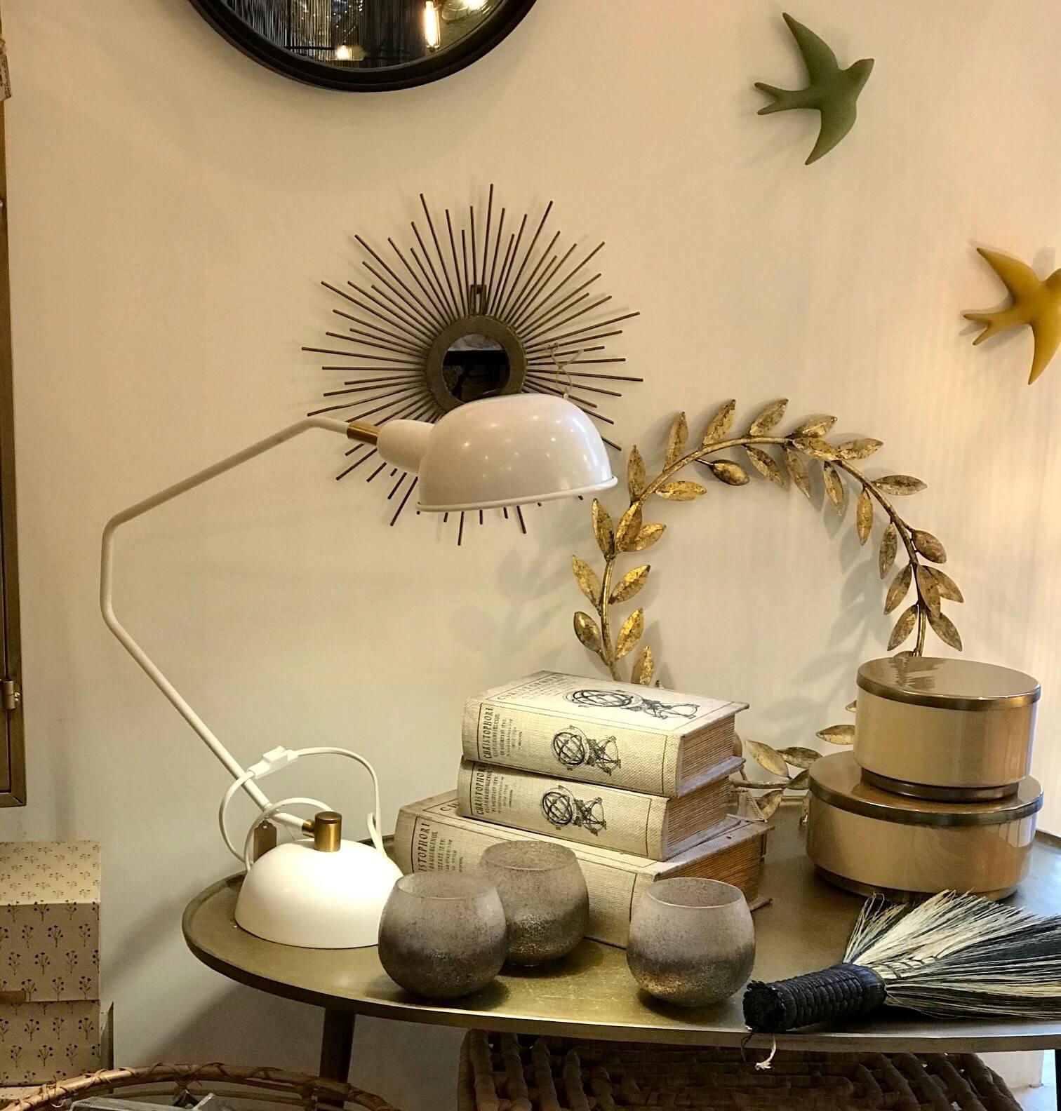 lampe de bureau blanche jolies trouvailles maison saint sa. Black Bedroom Furniture Sets. Home Design Ideas