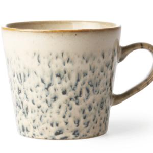 mug ceramique beige bleueté HK living