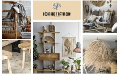 6 essentiels pour une décoration naturelle