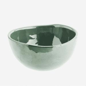 bol vert en ceramique