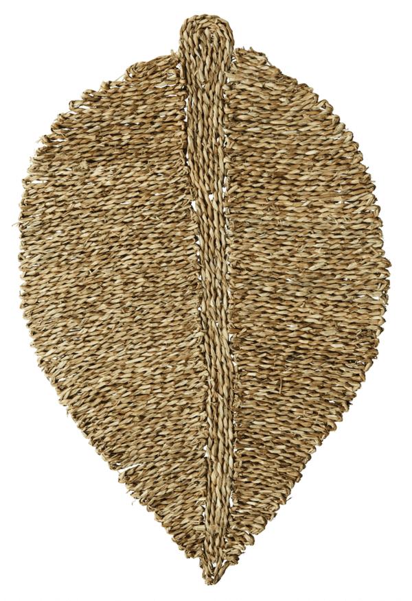 tapis feuille fibre naturelle madam stoltz