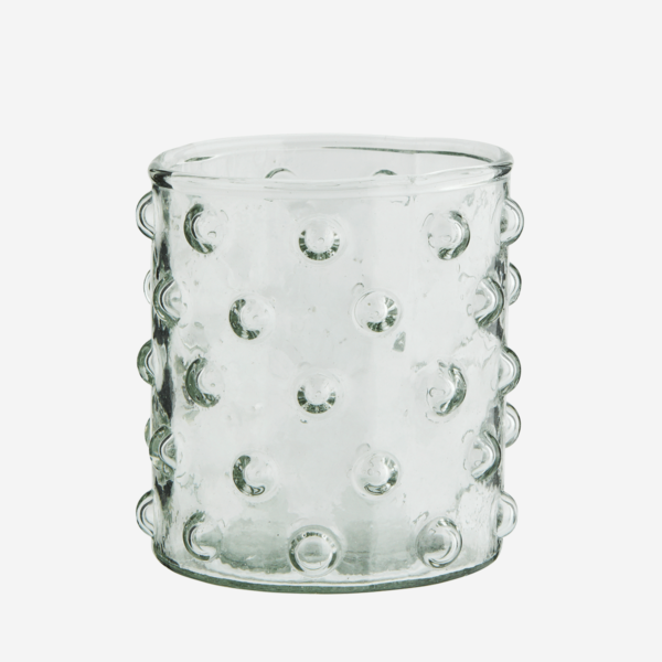 verre a eau motif pois