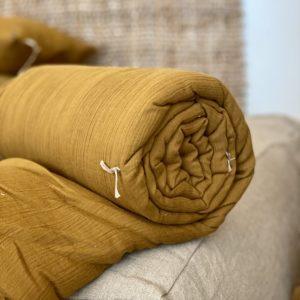dessus de lit en lin indian song gamme rajasthan
