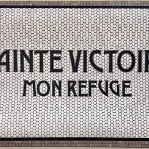 sainte victoire mon refuge mosaique