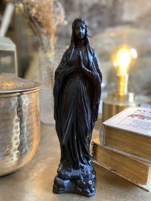vierge priere noir