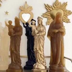 vierges enfants et sainte rita