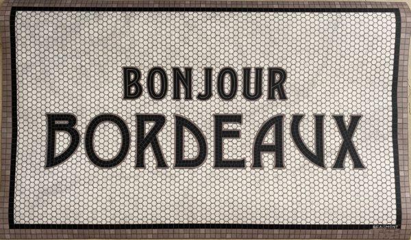 tapis en vinyle bonjour bordeaux beaumont made in france