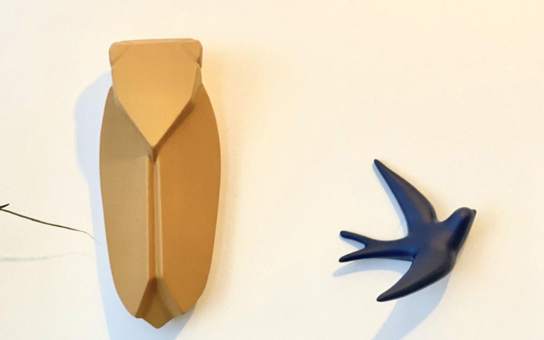 Muette en argile Beige foin (existe en 2 tailles), Monochromic