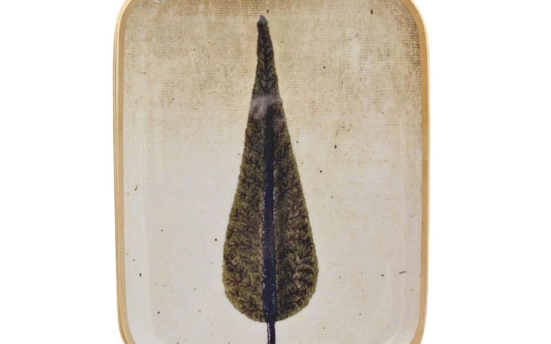 Plateau rectangle CYPRUS, 25 × 19 cm, Boncoeurs